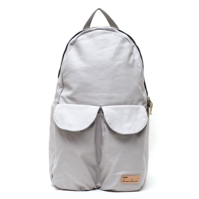 2Pocket Ear Flap Backpack Gris