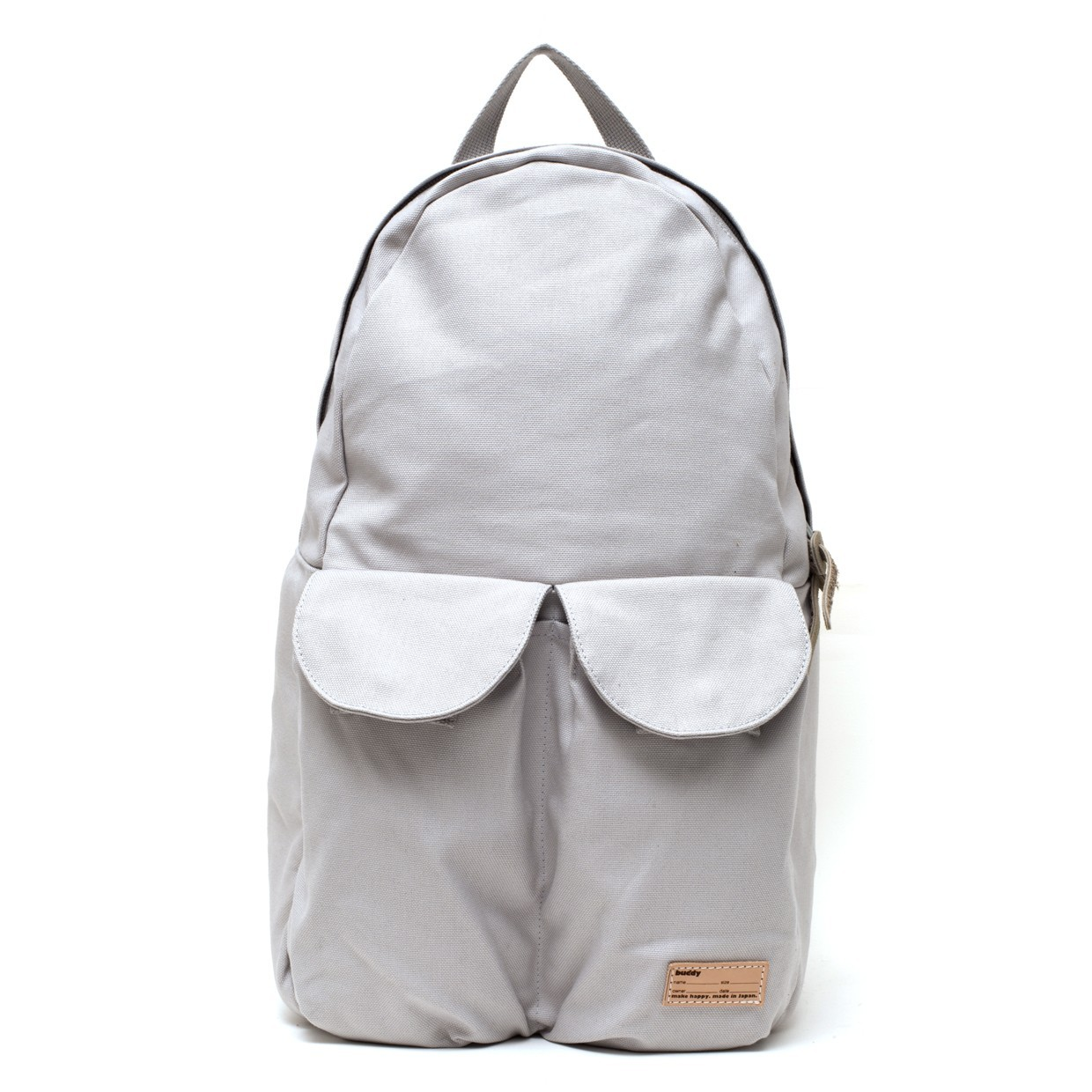 2Pocket Ear Flap Backpack Gris