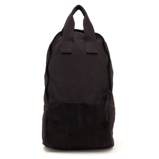 Ear Tote Backpack Long Noir
