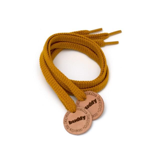 """Lacets Moutarde avec Patch en cuir 78 cm : 31 """""""