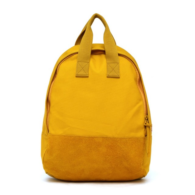 Ear Tote Backpack Moutarde