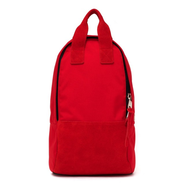 Ear Tote Backpack Long Rouge